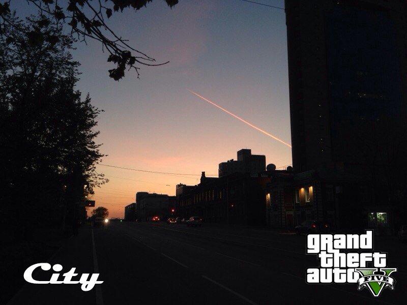 пару панорам нашего gta city #хочуgta5 - Изображение 1
