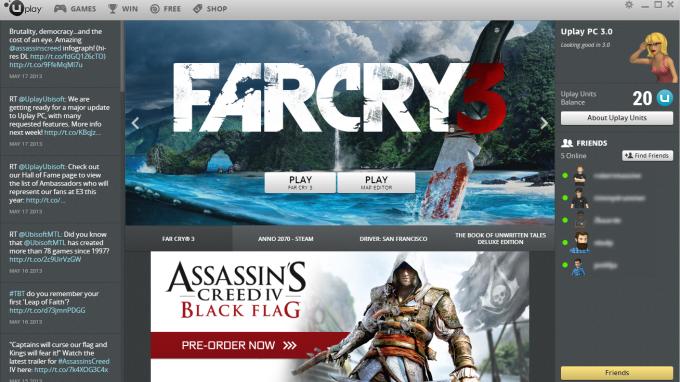 Ubisoft скоро презентует обновлённый UPlay PC, версию 3.0. Из того, что интересно обычному пользователю:  1) можно б ... - Изображение 1