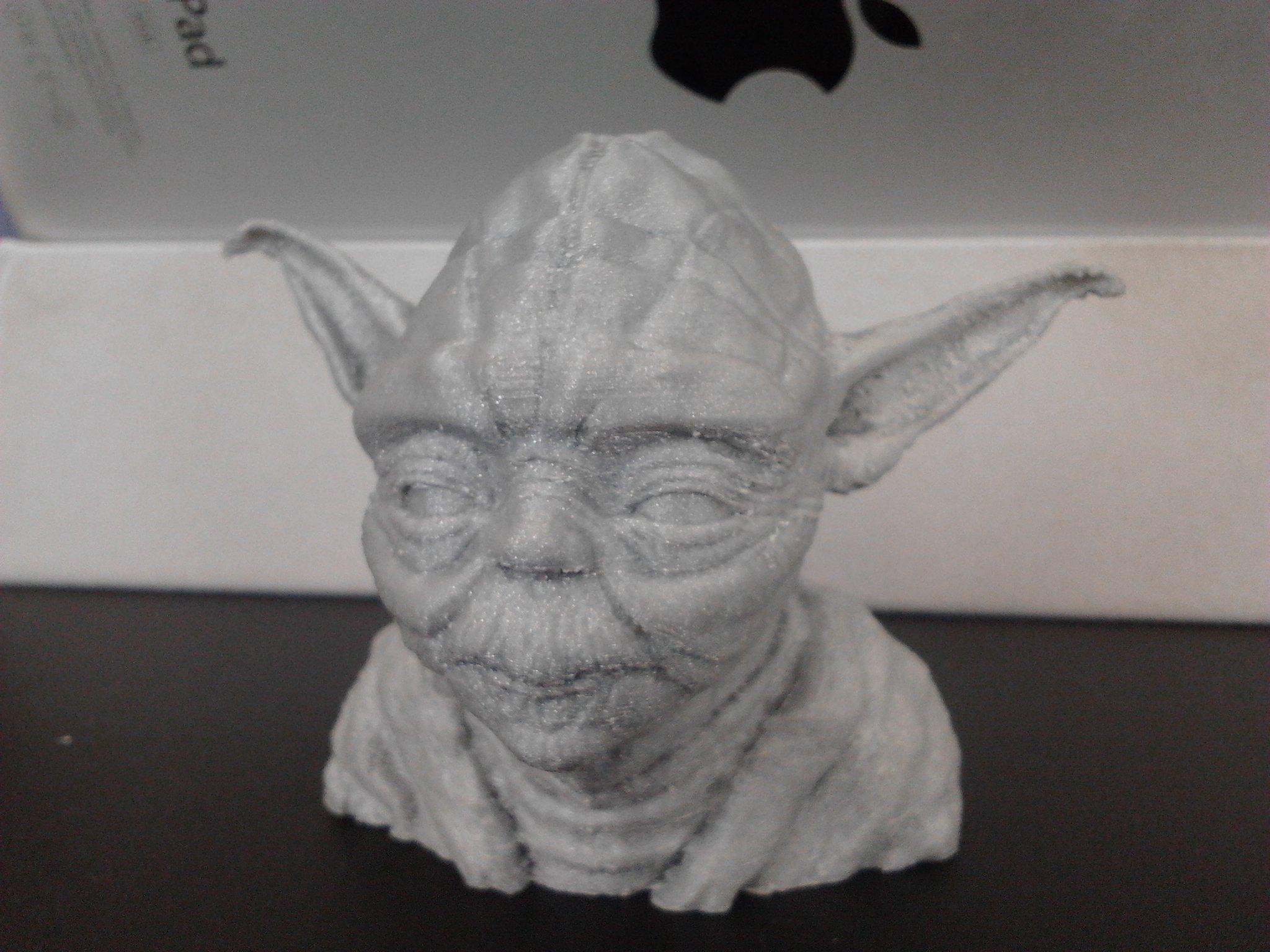 Мастер Йода нашел воплощение на 3д принтере=) - Изображение 2