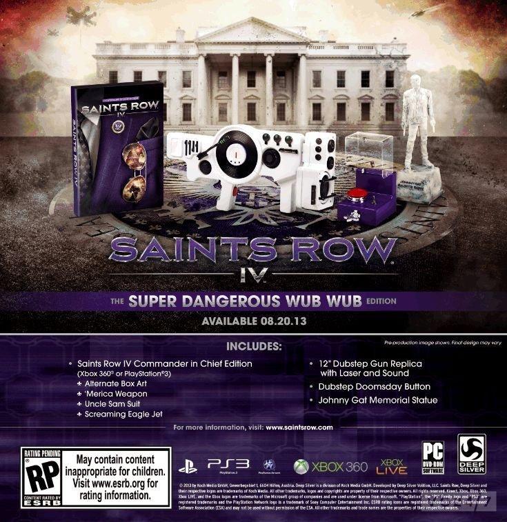 """Deep Silver анонсировала американское коллекционное издание Saints Row IV - Издание """"Супер Опасный Вуп-Вуп"""":  - Игру ... - Изображение 1"""