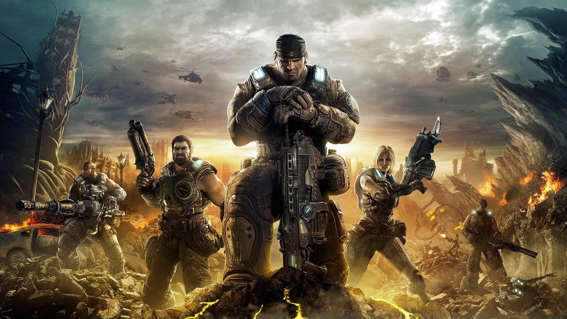 Прошла Gears Of War 3. Очень люблю эту прекрасную игровую серию. Были моменты где хохотала, безмерно удивлялась и да ... - Изображение 1