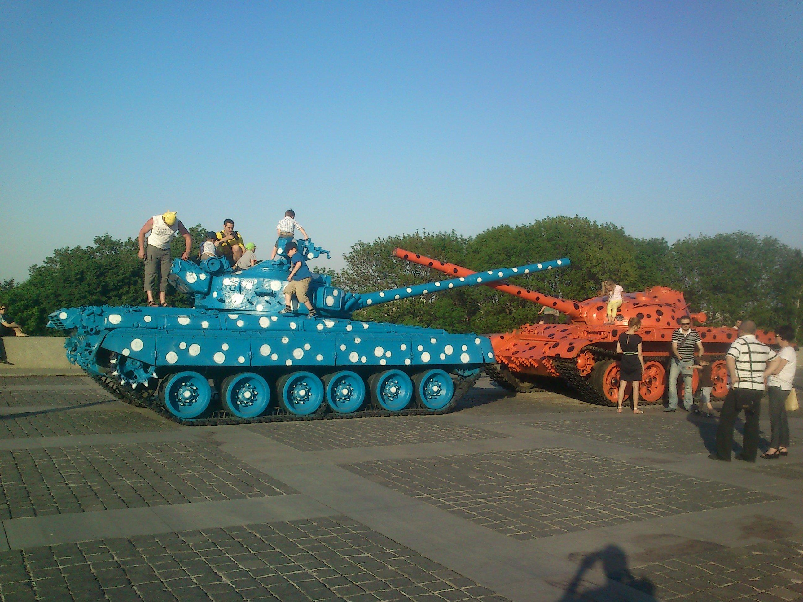 Наши танки краски не боятся!! - Изображение 1