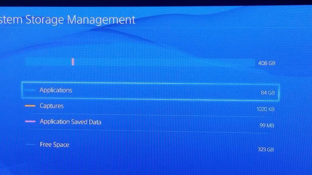 Согласно информации из Твиттера пользователя cjcool804, у приставки PlayStation 4 объем полезного пространства на же .... - Изображение 1