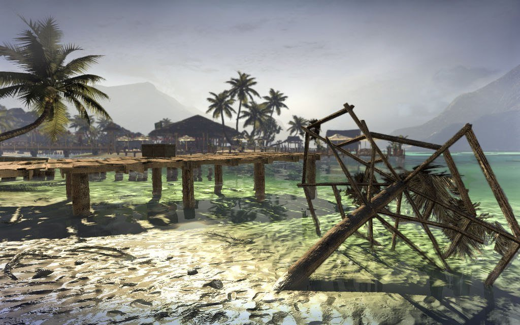 А напомните ка мне игр с пляжами и пальмами. Хочу море и тепло Т_Т  - Изображение 1