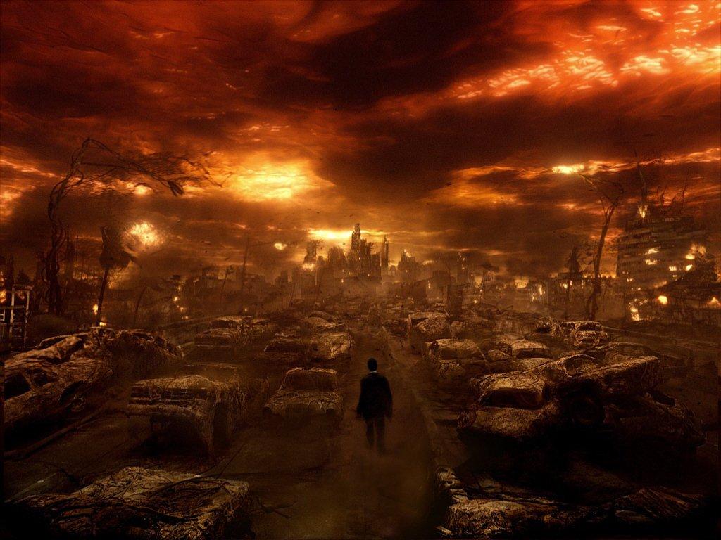 Давайте на минуту представим, что начинается конец света. Вы стоите посреди улицы и в дали вы видите приближающийся  .... - Изображение 1
