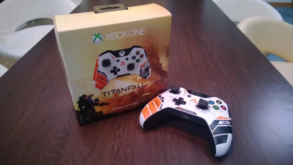 Геймпад XBOX ONE в стиле Titanfall.  Он секси! :3   #Titanfall #xboxone #xbox - Изображение 1