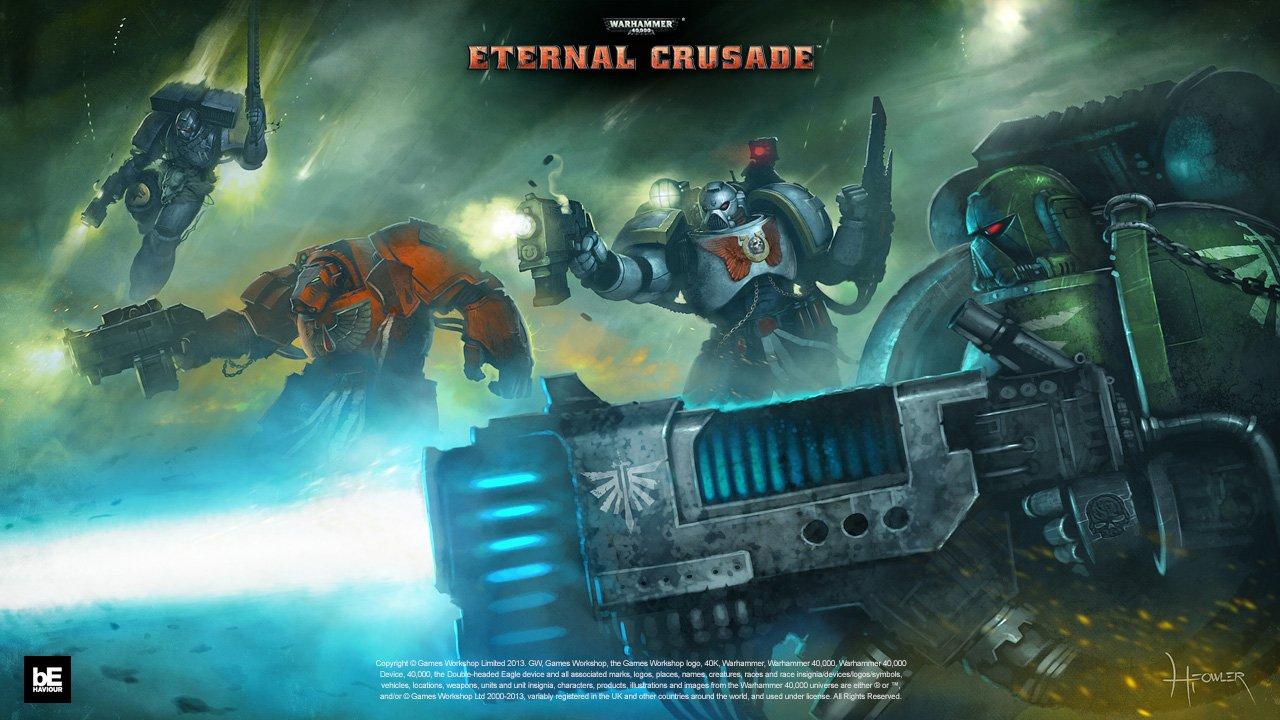 Официальный арт Warhammer 40,000: Eternal Crusade #wh40k   - Каждая фракция делится на Ордена, Легионы, Кланы и Кра ... - Изображение 1