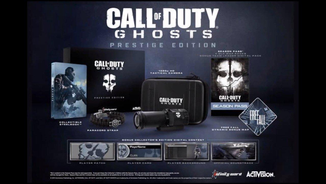 Коллекционные издания Call of Duty Ghosts:  Сегодня состоится демонстрация мультиплеера игры в 21:30, сама игра выхо ... - Изображение 1