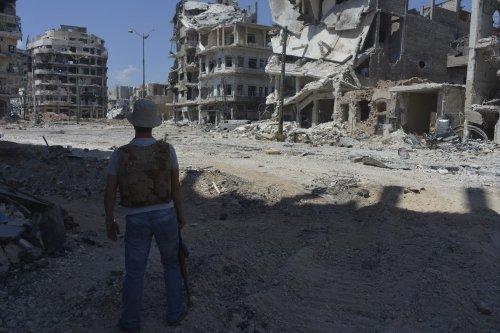 """""""Видели Fallout в реальности? Это город Хомс, Сирия. Центральная его часть. Фото сделал в этот понедельник. Сотни по ... - Изображение 1"""