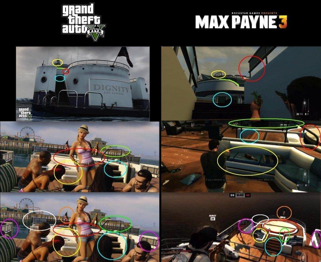 Яхта из Max Payne 3 есть в Grand Theft Auto V. - Изображение 1