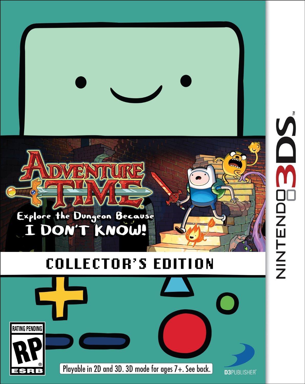 Adventure Time: Explore the Dungeon Because I DONT KNOW! получит коллекционное издание для #3DS. В комплекте обещают ... - Изображение 1