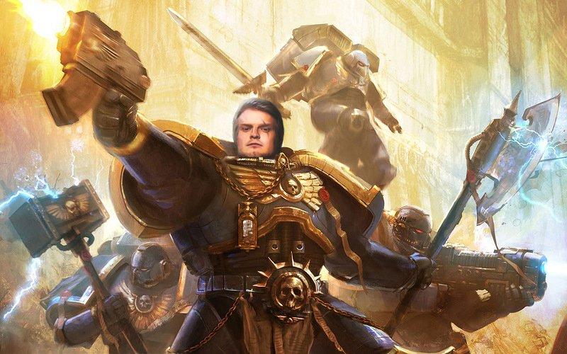 """Мой ответ Alex Blueberry на тему """"Виктор Зуев как истинный фанат вселенной Warhammer ... """" - Изображение 1"""