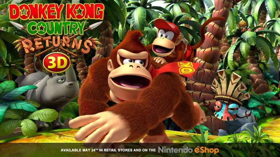 Возвращение легендарного Donkey Kong Country Returns в формате 3DS. 24/05/2013 года, всем держателям платформы must  ... - Изображение 1
