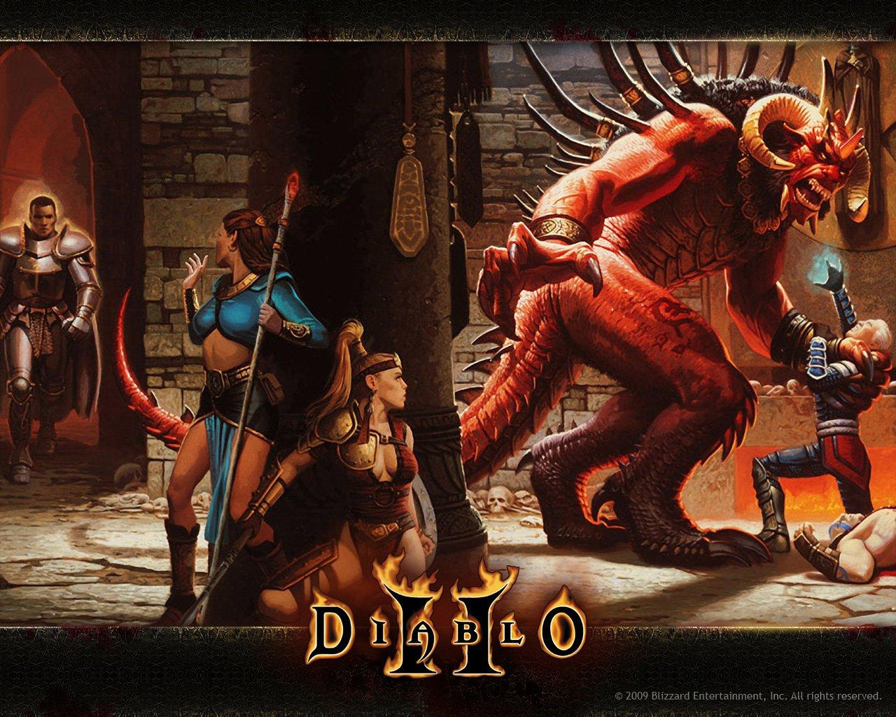 Да уж, мы сильнейшим образом угарели по Diablo 2 ! Играли 3,5 без остановки. И успели пройти первый акт. Это было мо ... - Изображение 1