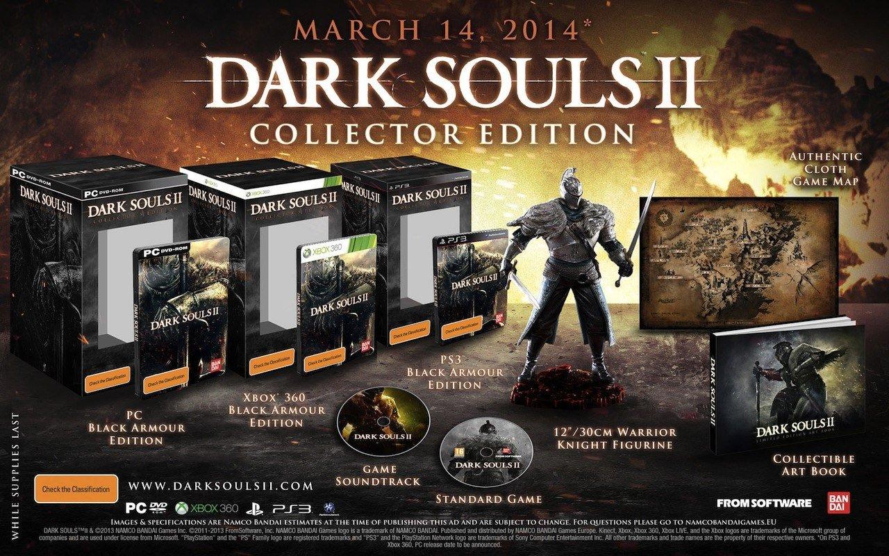 Кстати, к разговору о Dark Souls, вот состав коллекционного издания второй части)#darksouls2 - Изображение 1
