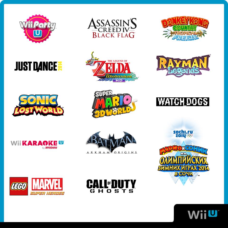 Игровая линейка #WiiU и #3DS 2013 - Изображение 1