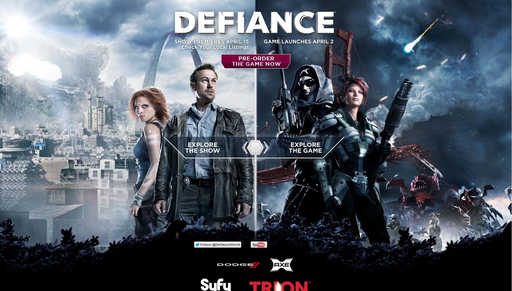 Разница между кино и видеоиграми никогда не была столько наглядной. Сериал Defiance одновременно и игра, и телесериа ... - Изображение 1