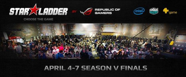 4-7 апреля в Киеве состоится Финал пятого сезона престижной международной лиги – STARLADDER.ТV. На сцену игрового це ... - Изображение 1