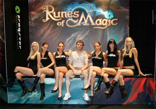 Как же я люблю 8 Марта! В честь праздника администрация проекта Runes of Magic организовала ивент «Тайны лабиринта»  .... - Изображение 1