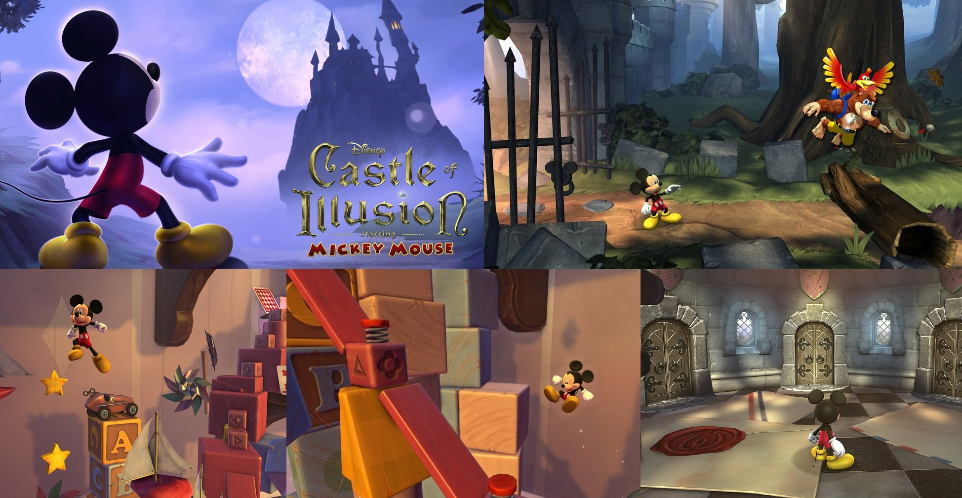 Объявлена дата выхода ремейка Castle of Illusion Starring Mickey Mouse.  Castle of Illusion Starring Mickey Mouse  - ... - Изображение 2