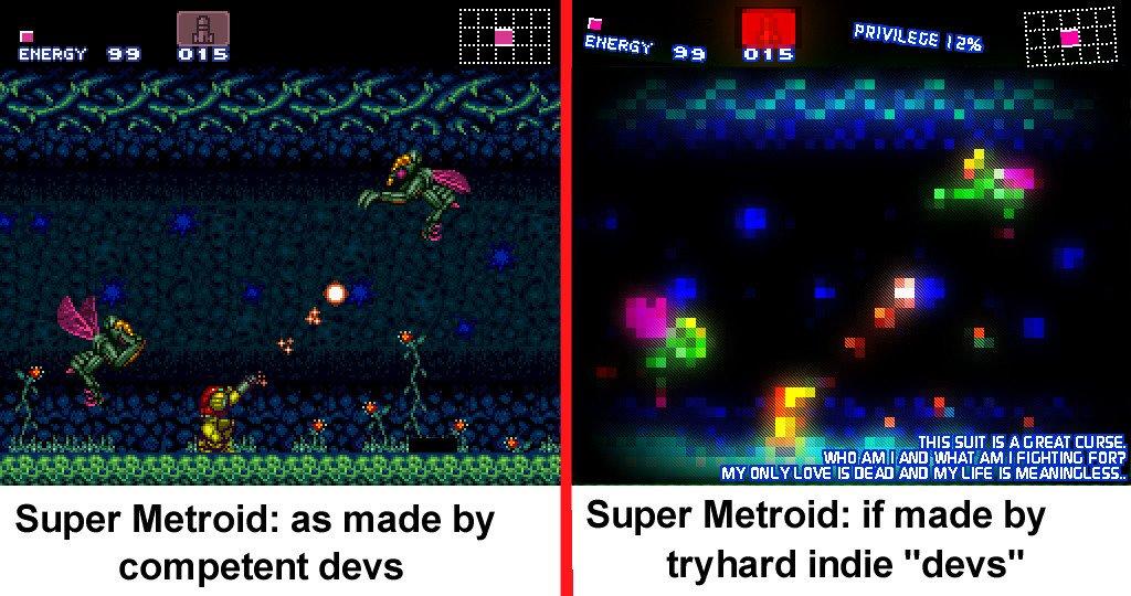 Кратко о том, почему большая часть инди-игр получаются средними или плохими:   - Изображение 1