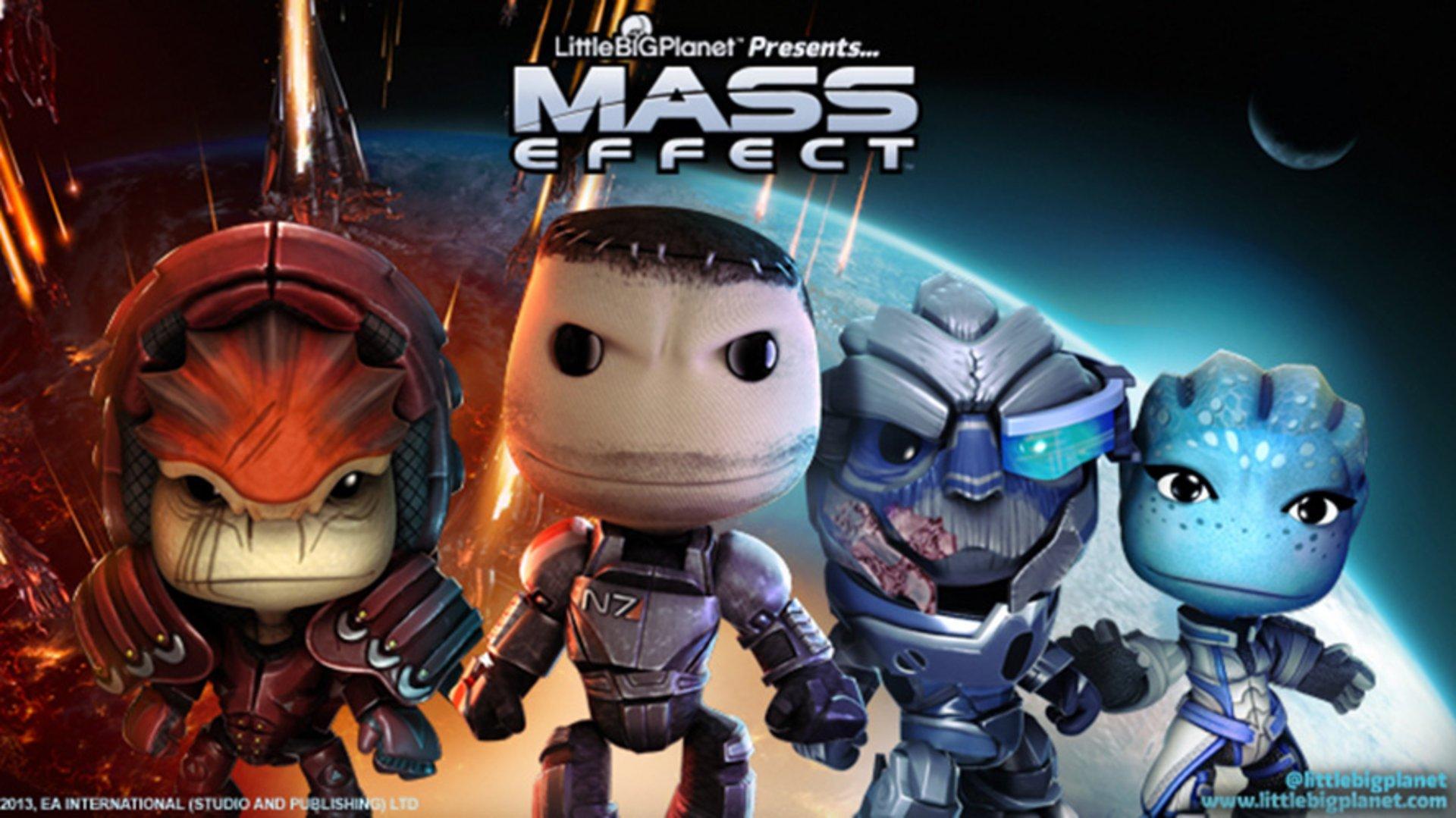 Костюмы персонажей из Mass Effect 3 в #LittleBigPlanet. Придется брать! - Изображение 1