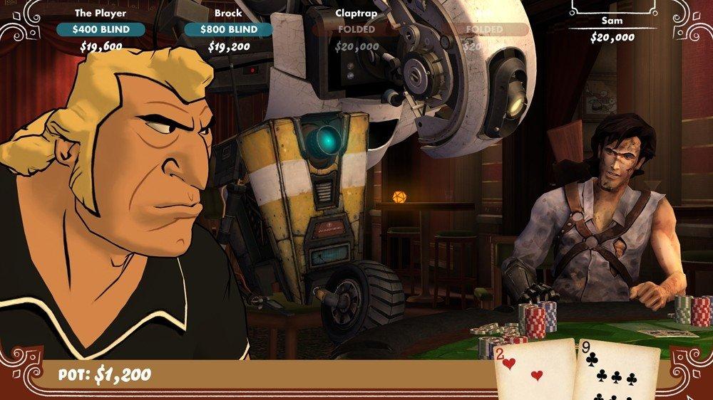 Сегодня знакомый скинул скришоты Poker Night at the Inventory 2, и кого я там вижу? Эша из Evil Dead! Так как в Poke ... - Изображение 1