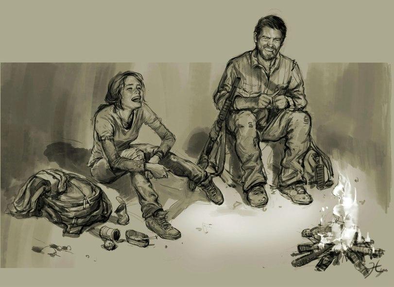 Отличный арт и игра! #LastOfUs - Изображение 1