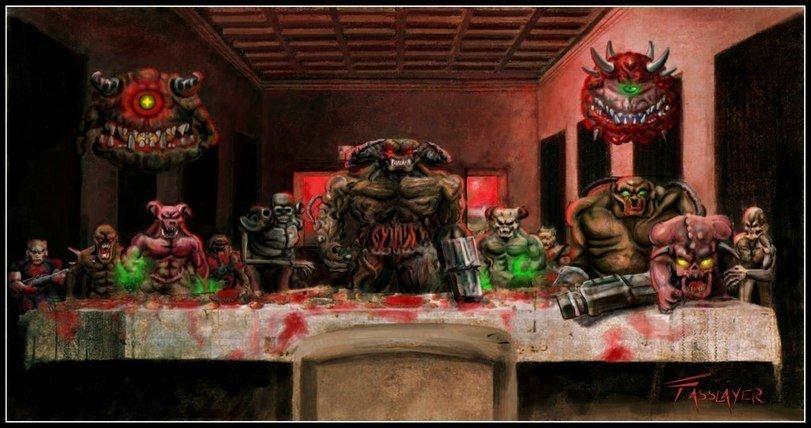 Адская вечеря  - Изображение 1