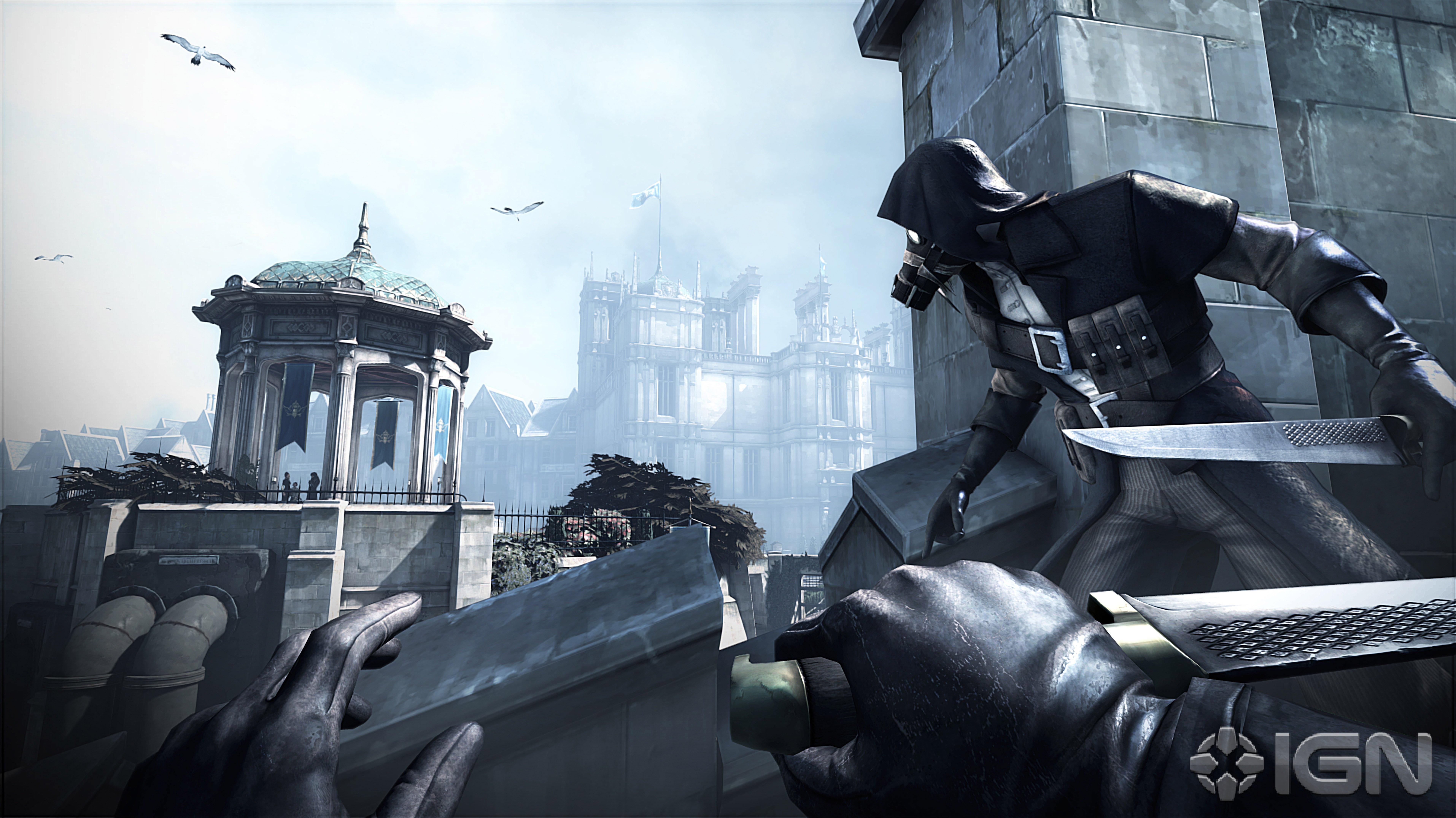 Вы уже видели скрины к грядущим DLC Dishonored?Там будет 1. Китобойня и 2. Миссия - завалить императрицу!Это, б***ь, ... - Изображение 2