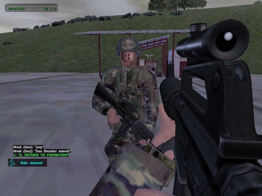 Солдат переменился в лице, ОК - Изображение 1