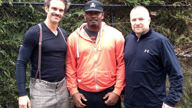 Актеры, озвучивающие трех главных героев игры GTA V, показали свои лица - Изображение 1