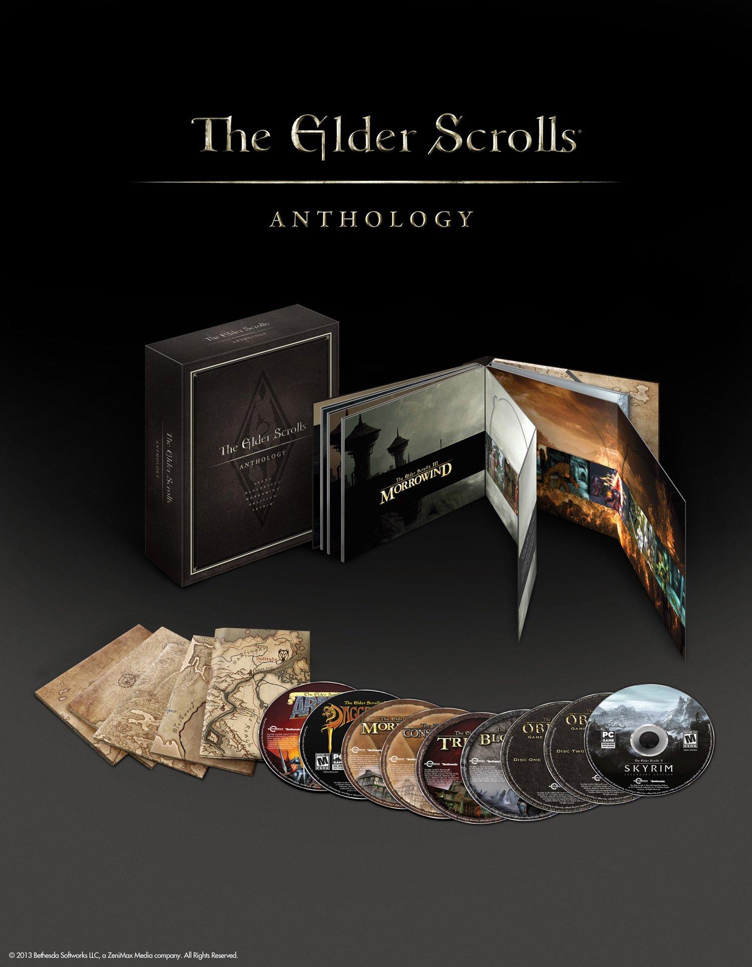 Антология The Elder Scrolls. Лепота.  The Elder Scrolls ArenaThe Elder Scrolls II: DaggerfallThe Elder Scrolls III:  ... - Изображение 1