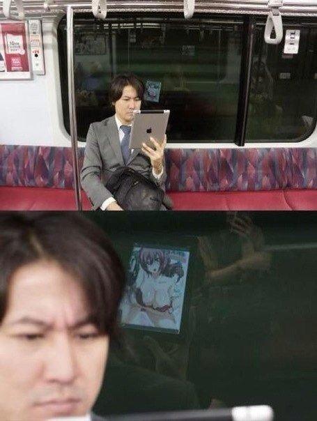 Казалось бы, вроде бы на вид серьезный деловой японец. :D - Изображение 1