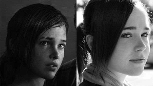 """Эллен Пейдж впервые прокомментировала сходство своей внешности с внешностью Элли из The Last of Us.  """"Наверное я дол ... - Изображение 1"""
