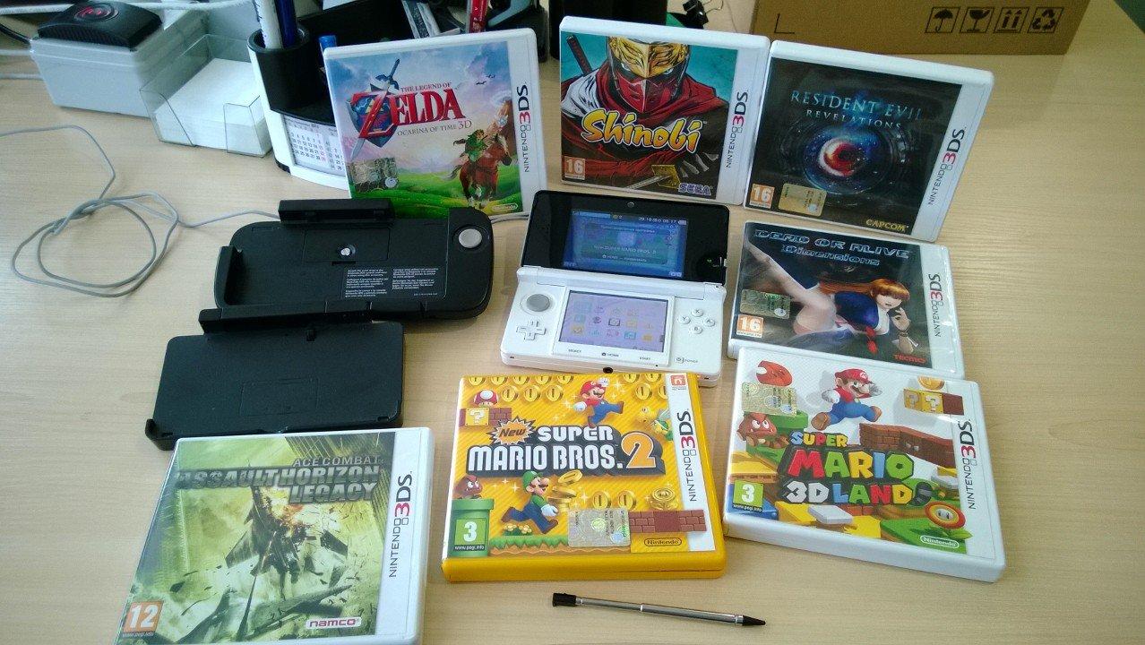 Мой набор Nintendo 3ds - Изображение 1