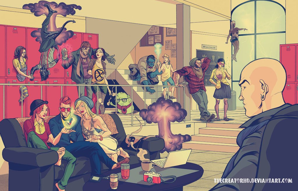 X-MEN - хипстеры. - Изображение 1