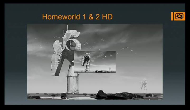 Homeworld HD - кадры перерисованных роликов в 1080p и новых текстур. (изображения закапченые, так что извиняйте за п ... - Изображение 1