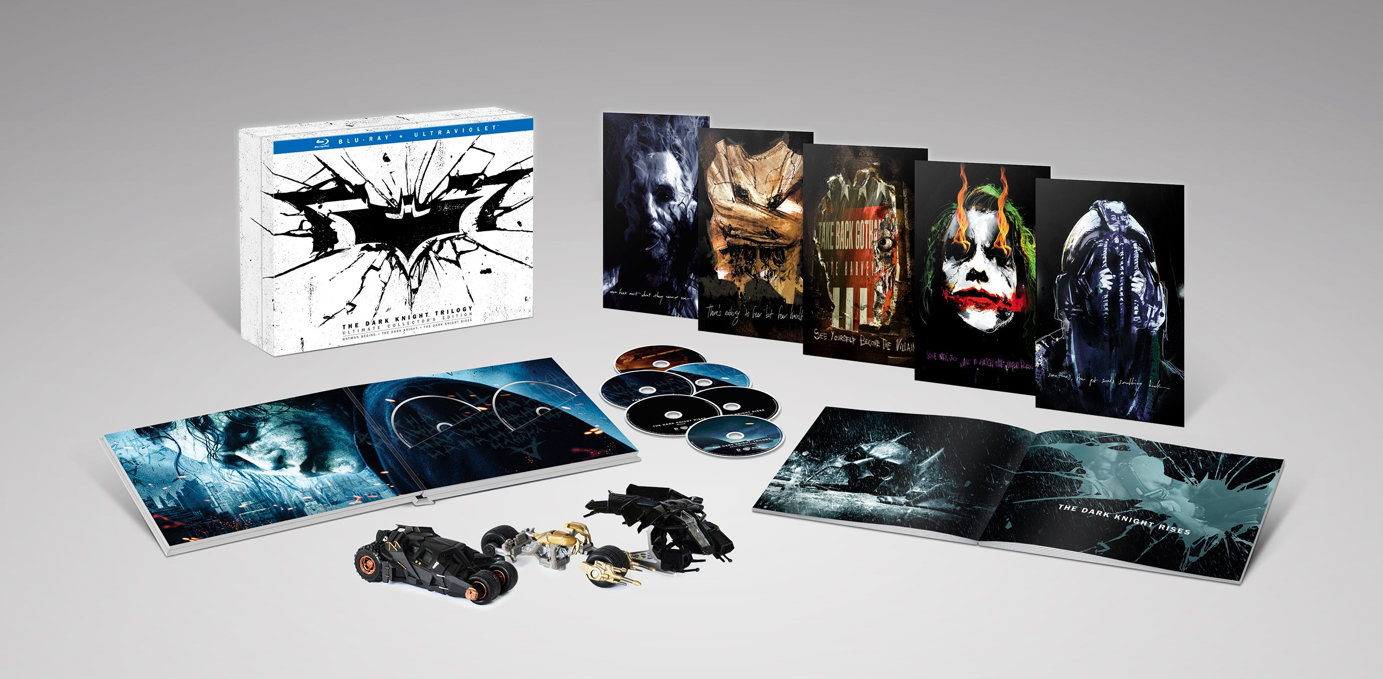 Хочу *_* The Dark Knight Trilogy: Ultimate Collector's Edition#batman - Изображение 1
