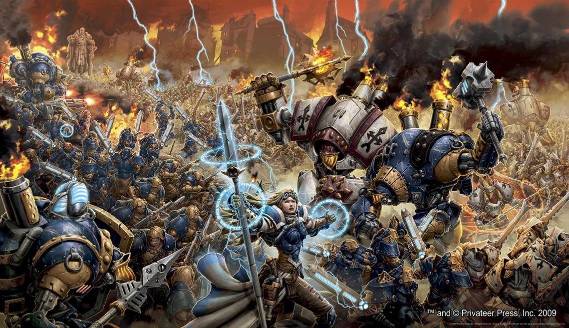 Я вот считаю, что Warmachine является отличной альтернативой Warhammer. Раньше помнится AT-43 было, тоже хороший вар ... - Изображение 1