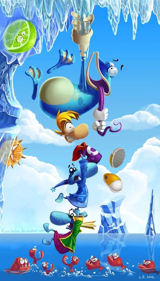 Фанарт Rayman. - Изображение 3
