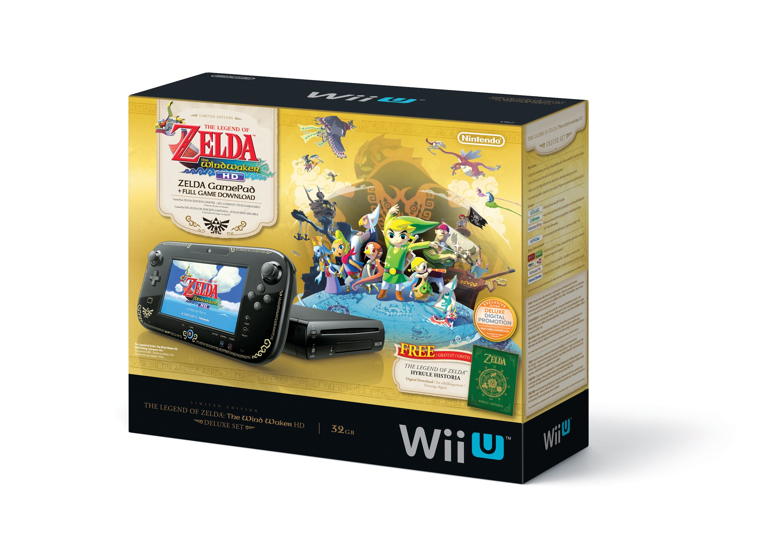 Цена на #WiiU Deluxe Set 20 сентября будет снижена на 50$, то есть все это дело обойдется в $299.99 (как понято прай ... - Изображение 1