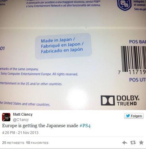 Ранее считалось, что абсолютно все PS4 производятся на заводах Foxconn, которые расположены в Тайване и Китае. Однак ... - Изображение 1