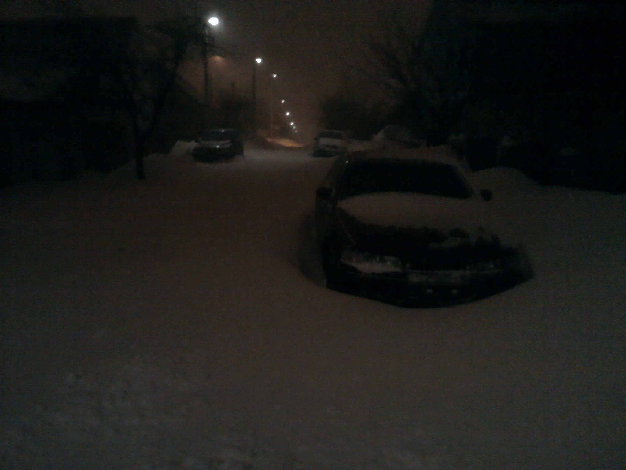 Весна пришла и за один день 40 сантиметров снега принесла.. - Изображение 1