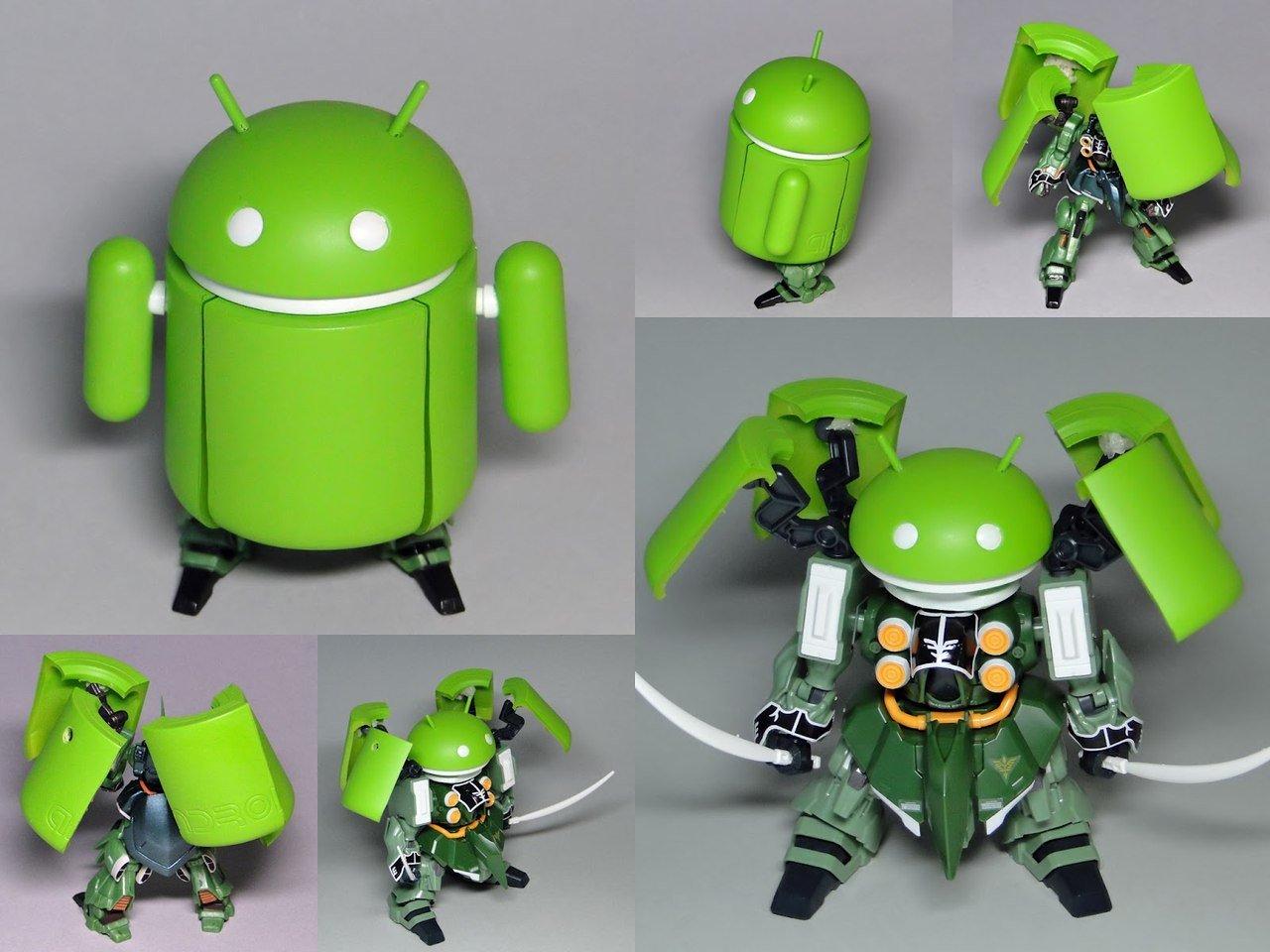 Игрушка Android-трансформер. - Изображение 1