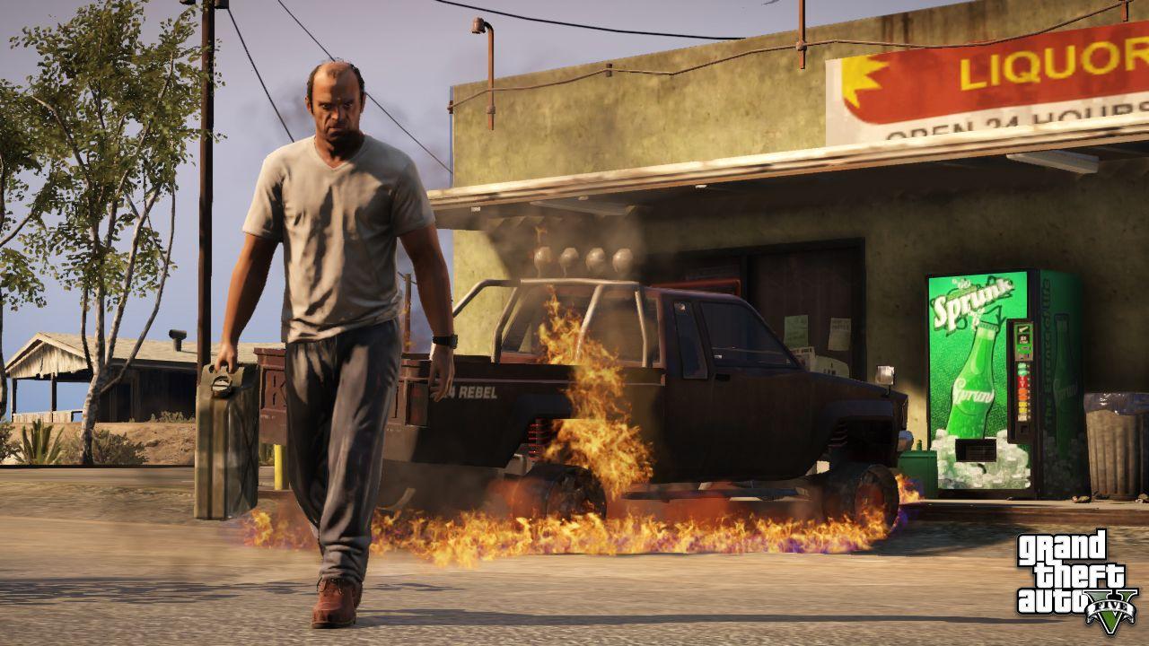 В GTA 5 появится возможность грабить заправочные станции! - Изображение 1