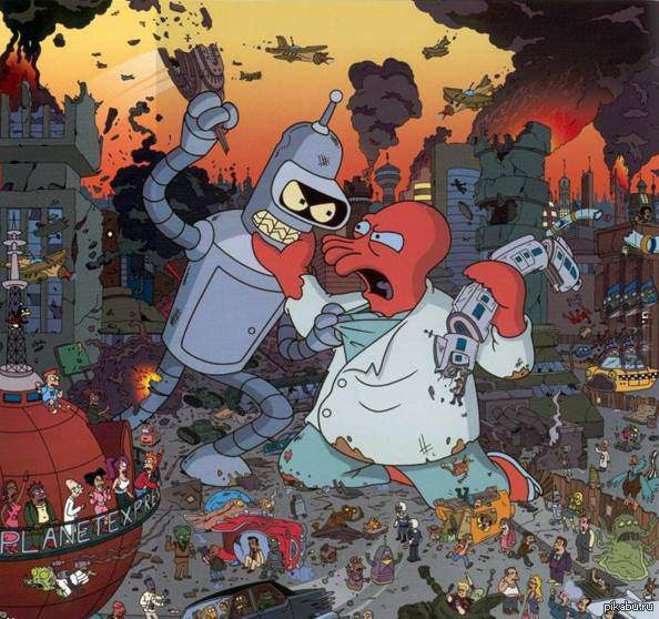 #PacificRim #Futurama. - Изображение 1
