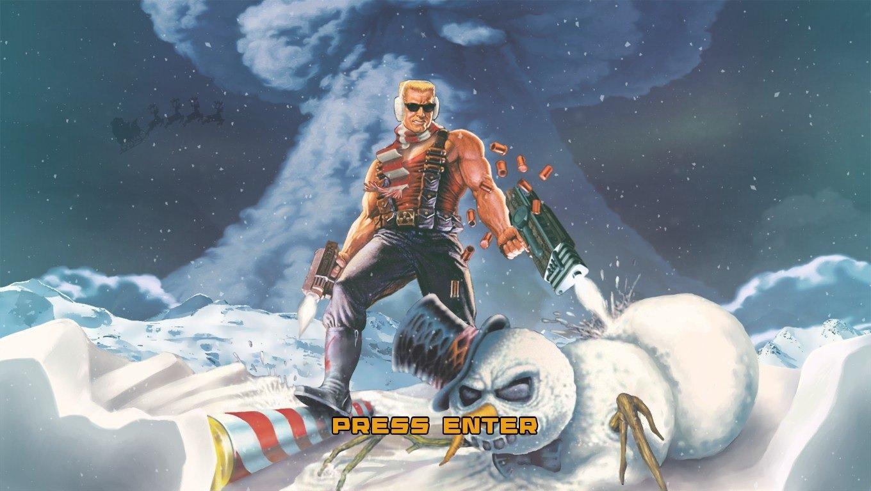 Играю в Duke Nukem: Nuclear Winter. Кто еще знает какие рождественско-новогодние игры? - Изображение 1