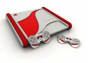 Красивый Дизайн Playstation 4  - Изображение 1
