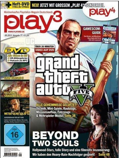 GTA 5. Новая информация из журнала Play   - Помните число 83 в слоте для мультиплеерного персонажа? Это число, возмо ... - Изображение 1